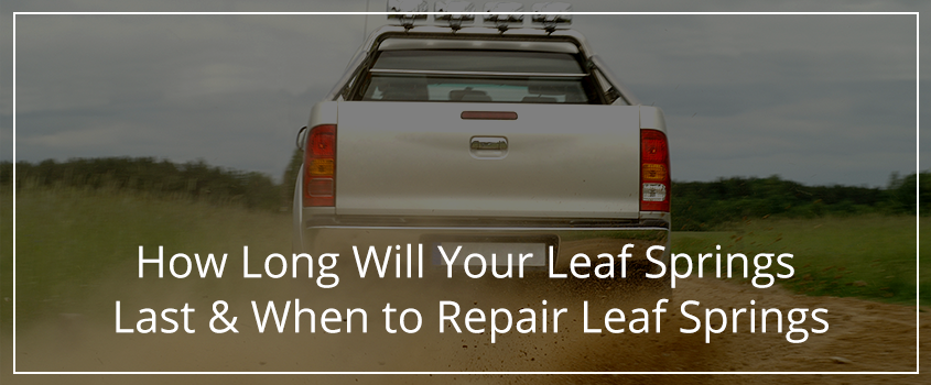 how to replace leaf springs on a truck